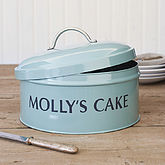 Personalised Cake Tin - christmas