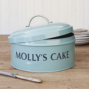Personalised Cake Tin - kitchen storage