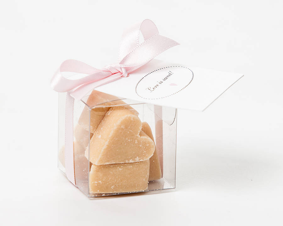 Scottish Tablet Heart Wedding Favour By Phil Rao Studio Two