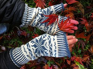 Nordic Star Mittens - hats, scarves & gloves