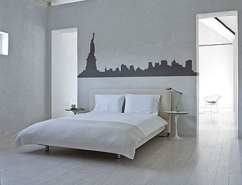 New York City Skyline Wall Sticker