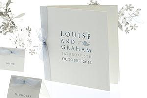Leaf Wedding Invitation - wedding stationery