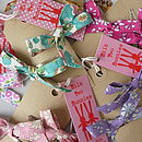Liberty Bow Hair Clips