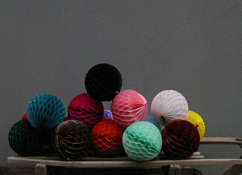 Paper Balls Small Party Decorations