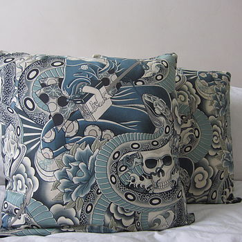 Japanese Tattoo Cushion M