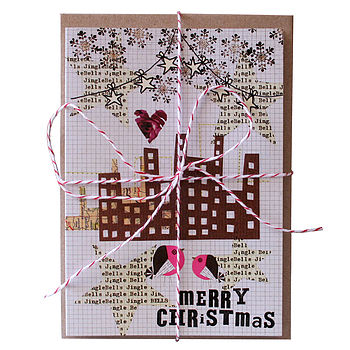 Six In The City Christmas Cards
