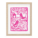Garden Birds Screen Print