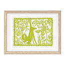 Thumb green mr fox ltd edition screen print
