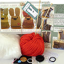 Personalised Bunny Knit Kit