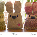 bunny knit kit christmas stocking filler
