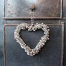 Beaded Heart Decoration