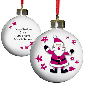 Christmas Personalised Childrens Baubles - view all decorations