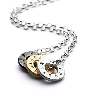 Baby Hugs Personalised Necklace - women's jewellery