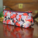 Bergen Marbled Make Up Bag