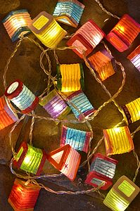 Lantern String Lights - view all decorations