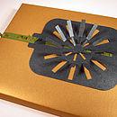 Ribbon Slide Gift Embellishment Rosette Packs