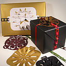 Ribbon Slide Gift Embellishment Rosette Packs
