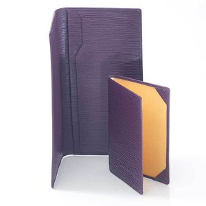 Slim Leather Travel Wallet - passport & travel card holders