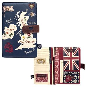British Isles Map Travel Wallet - bags & purses