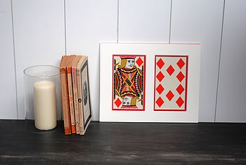 1950's Vintage Oversized Playing Cards