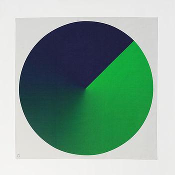 Spin scarf green circle full