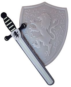 Sword & Silver Shield - toys & games