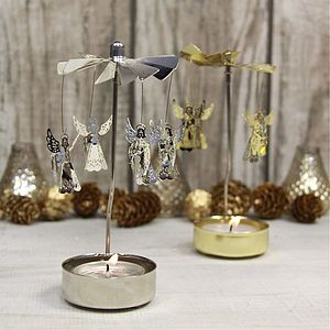 Angel Rotary Tea Light Holder - votives & tea light holders