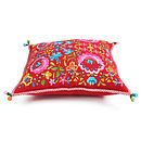 Pip Studio folklore square cushion red