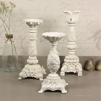 Vintage Style Ornate Candle Stick