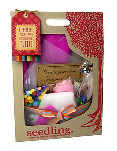 Create Your Own Designer Tutu Kit - crafts & creative gifts
