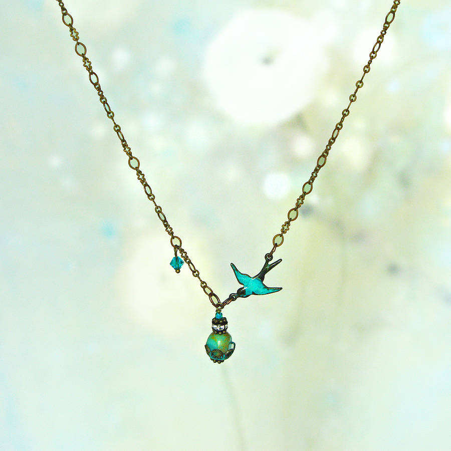 her bird original for silver gift sterling necklace product