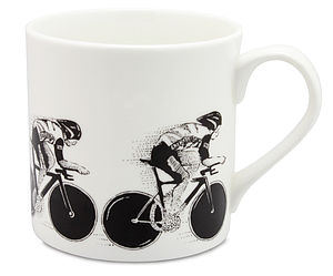 Cyclist Pursuit Mug - crockery & chinaware