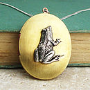 Frog Locket Necklace
