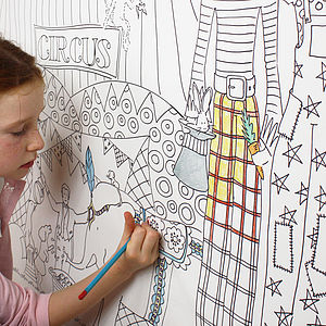 Colour In Wallpaper - children's room