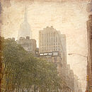 New York Vintage Photo Print