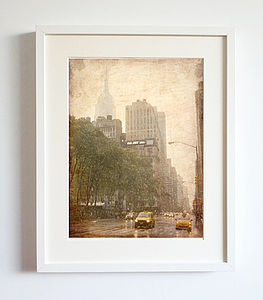 New York Vintage Photo Print - art by category