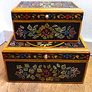 Set Of Two Wooden Boxes