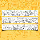 Junior Farmyard Design Colour In Border