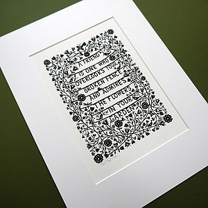 'A Friend Is' Print