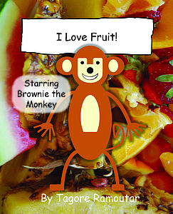 I Love Fruit Book - toys & games