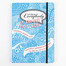 'All About Everybody' School Memory Journal