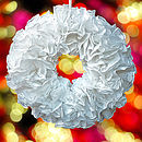 Ruffle Paper Wreath Kit