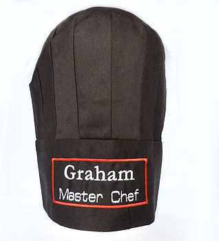 Personalised Chef's Hat