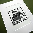 Indian Elephant Print