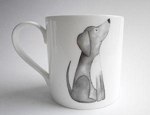 Fine Bone China Dog Mugs