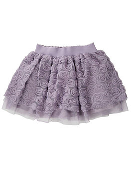 Pidora Flower Laced Skirt