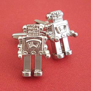 Robot Cufflinks - gifts for geeks