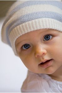 Cashmere Baby Beanie - children's hats & headscarves