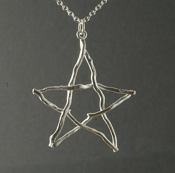 Pagan Pentangle Pendant