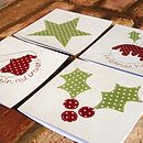 Pack Of Eight Christmas Cards By Alex